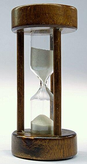 English: Hourglass Deutsch: Sanduhr