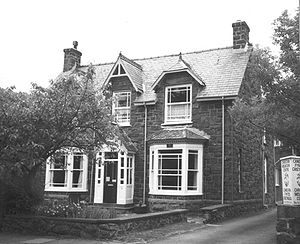 English: T. E. Lawrence's birth-place. The hou...