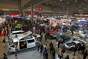 English: Tokyo auto salon 日本語: 東京オートサロン