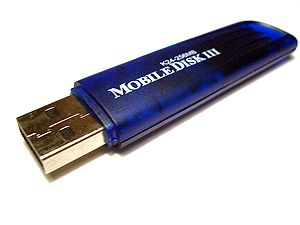 USB flash drive, originally marketed as the Di...
