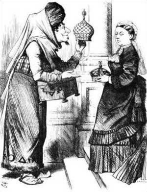 English: An 1876 political cartoon, originally...