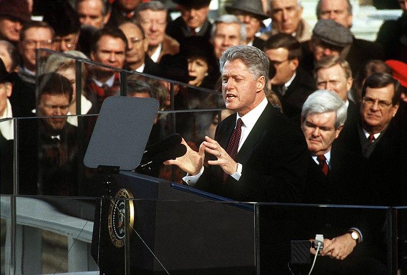 File:William J. Clinton Inaugural address.jpg