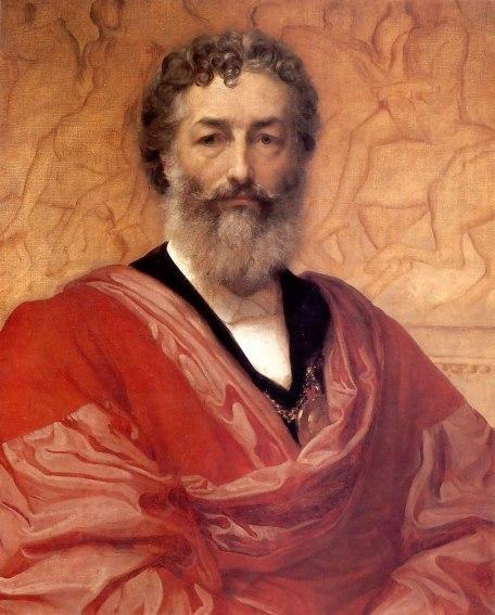 1880 Frederic Leighton - Self portrait