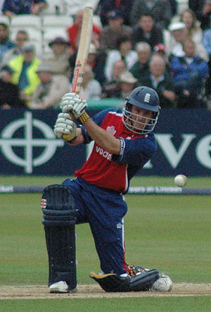 England cricketer Andrew Strauss