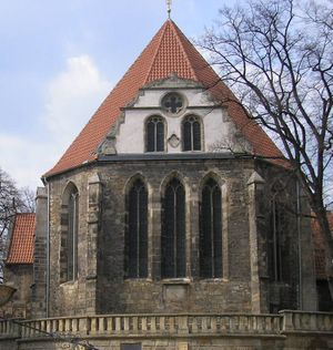 St. Boniface's Church in Arnstadt