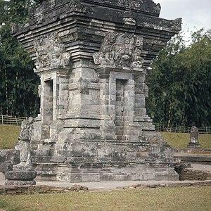 English: The Candi Angka Tahun at the Panatara...