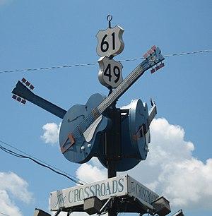 """""""The Crossroads"""", where Robert Johns..."""