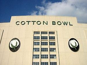 The Cotton Bowl main entrance