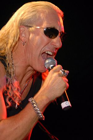 Dee Snider performing at The Roxy, West Hollyw...