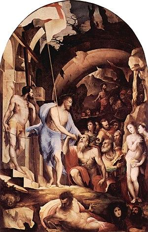 Domenico Beccafumi's depiction of Jesus leadin...