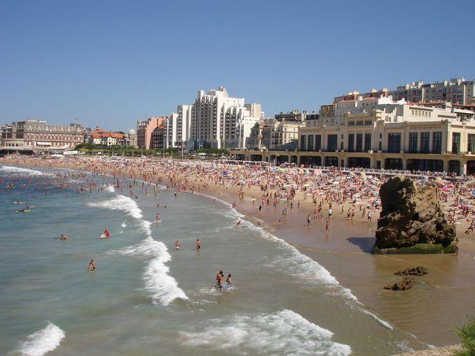 France-Biarritz-Grande lage et Casino-2005-08-05