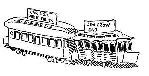 """""""White"""" and """"Jim Crow"""" rai..."""