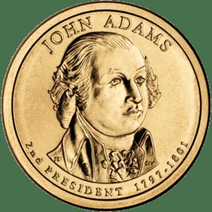Presidential $1 Coin Program coin for John Ada...
