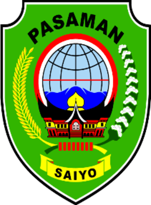 Lambang (Coat of Arms) of Kabupaten (Regency) ...