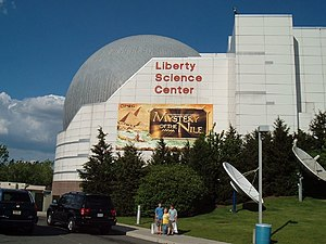 Liberty Science Center in Jersey City, New Jersey