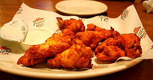 Buffalo wings from a Pizza Hut in Portage, MI.