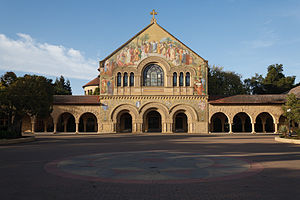 English: Stanford Memorial Church, Stanford Un...
