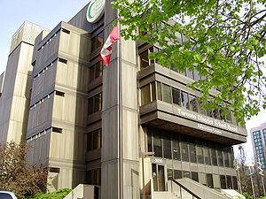 The head office of the Toronto District School...