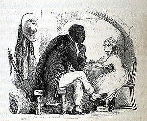 Illustration of Tom and Eva by Hammatt Billing...