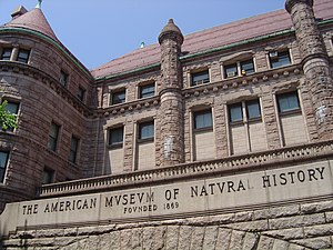 Photo of side entrance of American Museum of N...