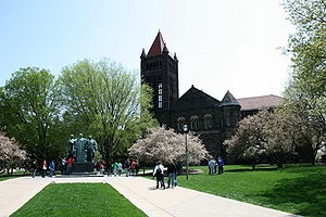 English: Altgeld Hall, the University of Illin...