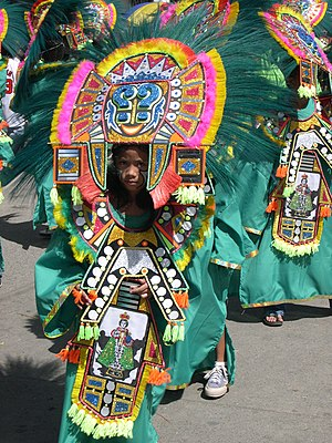 Ati-Atihan festival in Kalibo, Aklan, the Phil...