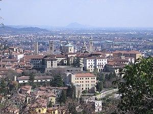 Città Alta, Bergamo, Italy