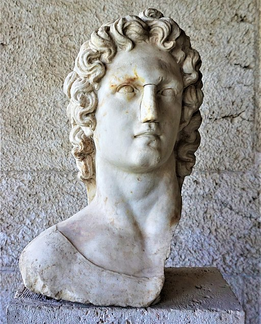Bust of the Sun-God Helios - Museum of the Ancient Agora - Joy of Museum