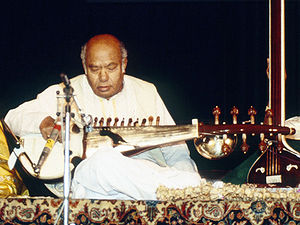 Indian classical musician and master of sarod ...