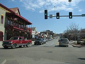 Downtown Fayetteville, Arkansas