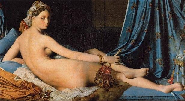 Jean Auguste Dominique Ingres - The Grand Odalisque - WGA11841
