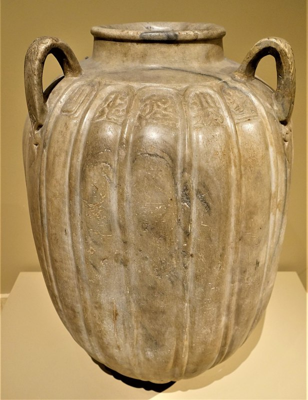 Marble Jar of Zayn al-Din Yahya Al-Ustadar - MET - Joy of Museums