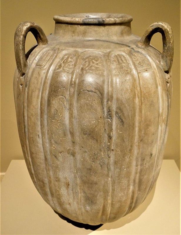 Marble Jar of Zayn al-Din Yahya Al-Ustadar - MET - Joy of Museums