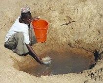 Mwamanongu Village water source, Tanzania. &qu...