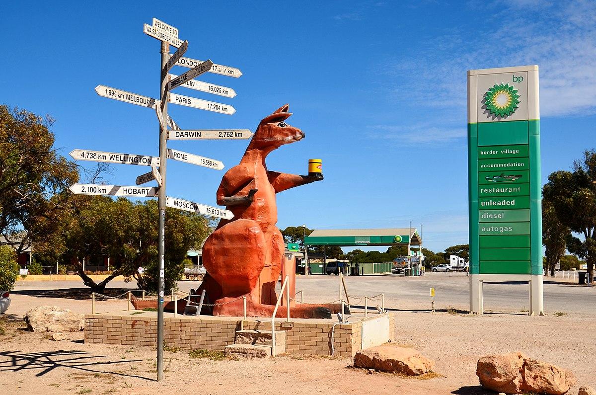 Big Kangaroo de Border Village