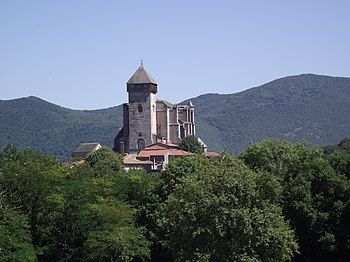 Français : Eglise de St Bertrand de Comminges ...