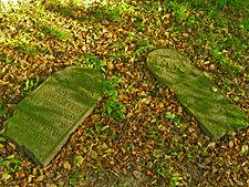 Stary cmentarz żydowski w Lublinie macewy5.jpg