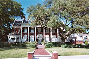 House in Hyde Park Historic District, in Tampa...