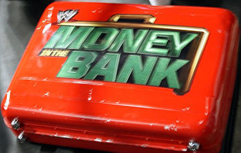 English: The Miz's Money in the Bank briefcase
