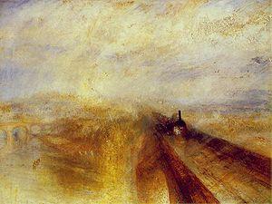 Lluvia, vapor y velocidad, pintado en (1844).