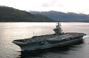 The USS Ronald Reagan