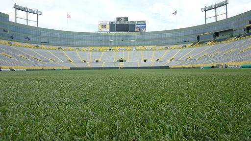 View of Lambeau Field