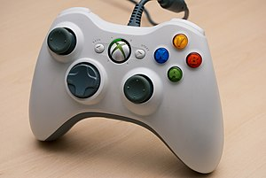 XBox 360 wired controller.