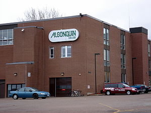 El campus de Pembroke, Ontario del Algonquin College