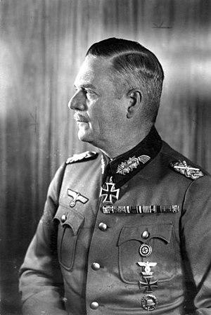 Wilhelm Bodewin Johann Gustav Keitel, Generalfeldmarschall und Chef des Oberkommandos der Wehrmacht