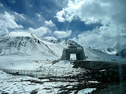 PAK-CHINA BORDER Khunjerab pass
