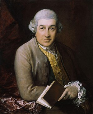 Portrait of David Garrick by Thomas Gainsborou...