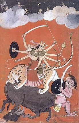 Durga o la diosa Devi.