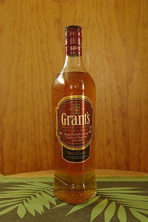 Grant's Whisky triangle bottle