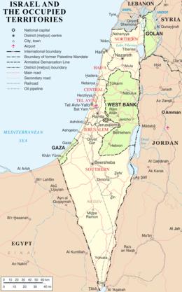 حدود إسرائيل ويكيبيديا